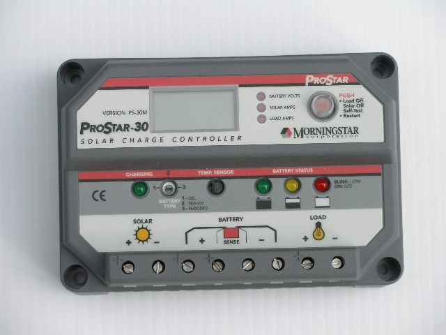 ProStar PWM controller with meter